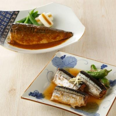 なすび亭常温煮魚 (2種計10袋) N47979