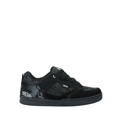 ETNIES スニーカー&テニスシューズ(ローカット) ブラック 7.5 革 / 紡績繊維 スニーカー&テニスシューズ(ローカット)