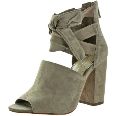 ハイヒール ジェシカシンプソン Jessica Simpson Kandiss Women's Open-Toe Block Heel Dress Shoes