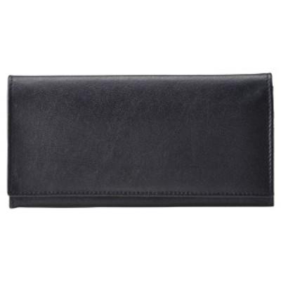 バッファロー革 長財布(ブラック)(ブランド財布 お財布)(内祝い 出産内祝い 結婚内祝い ギフト 引き出物 お返し)