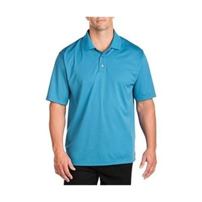 リーボック カジュアルシャツ Reebok Big & Tall ゴルフ Play Dry Solid Polo  2XTall California Blue