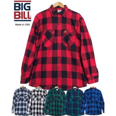 ネルシャツ ビッグビル BIG BILL 121 PREMIUM FLANNEL WORK SHIRT