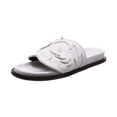 [ピッピシック] Foot Bed Western Sandal レディース FB WESTERN19 (ホワイト 25.0 cm)