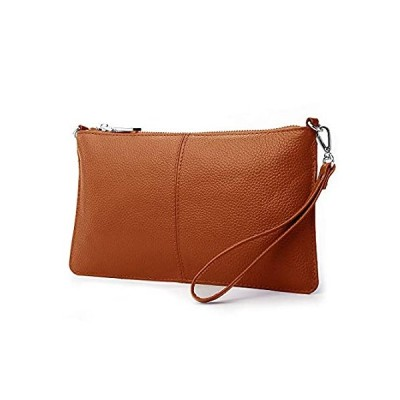Lecxci Leather Crossbody Purses Clutch Phone Wallets with Card Slots for Wo