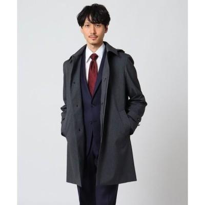 TAKEO KIKUCHI / タケオキクチ 【Sサイズ〜】メランジヘリンボンコート