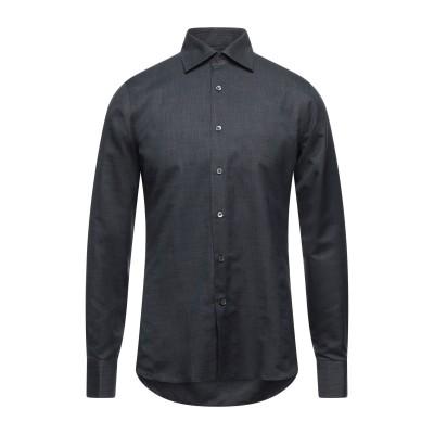カナーリ CANALI シャツ スチールグレー 39 コットン 100% シャツ