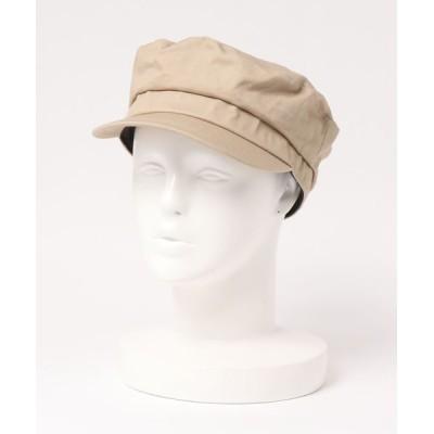AMERICAN HOLIC / ツイルマリンキャスケット * WOMEN 帽子 > キャップ