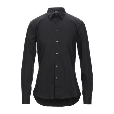 EXTE シャツ ブラック L コットン 72% / ナイロン 25% / ポリウレタン 3% シャツ