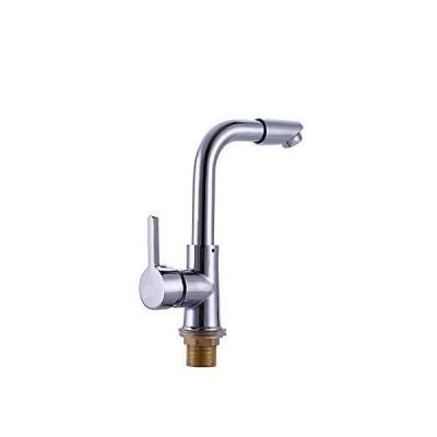 (新古品)YBB-YB 水栓 蛇口 洗面所やバスルームのシンクシングルホットとコールドキ