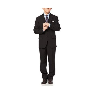 ドレスコード101 礼服 メンズ 喪服 黒 上下 セット 洗える アジャスターで調整可能 冠婚葬祭 ブラックスーツ ブラック 日本 A7 (