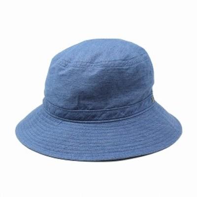 ノックス サハリハット デニム knox 帽子 春夏 バケットハット HAT 日本製 KNOX サファリハット メ
