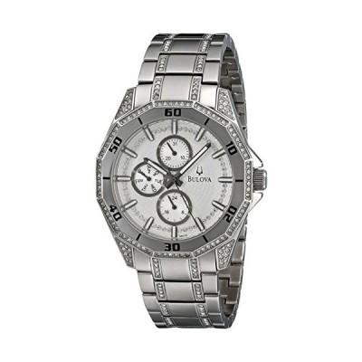 腕時計 ブローバ メンズ 96C110 Bulova Men's 96C110 Crystal Multifunction Watch