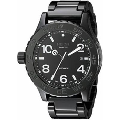 Nixon Mens A148-001-00 Ceramic 42-20 Analog Display Swiss Quartz Black Watch