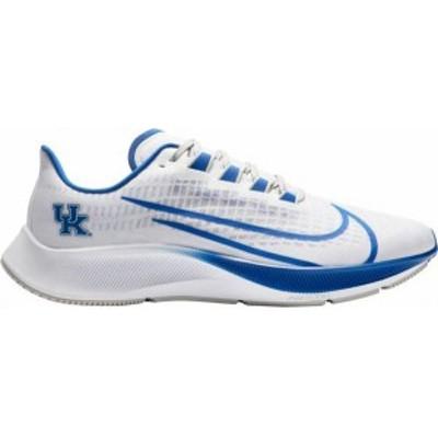 ナイキ メンズ スニーカー シューズ Nike Kentucky Air Zoom Pegasus 37 Running Shoes White/Royal