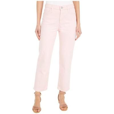 ハドソンジーンズ レディース デニムパンツ ボトムス Remi High-Rise Straight Croppd in Soft Pink