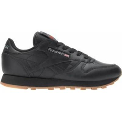 リーボック レディース スニーカー シューズ Reebok Women's Classic Leather Shoes Black