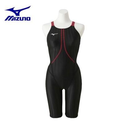 ミズノ FINA承認 競泳水着 レディース ハーフスーツ N2MG822397 MIZUNO