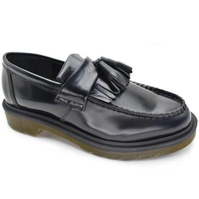 ドクターマーチン エイドリアン ブラック Dr.Martens ADRIAN BLACK 14573001 ユニセックス タッセル ローファー 定番 国内正規品