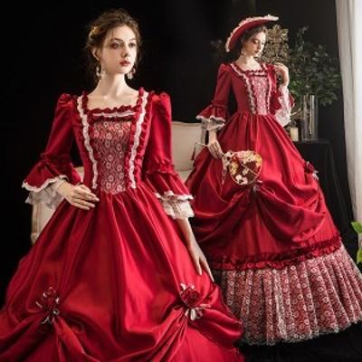 中世貴族風 貴族 中世 ステージ衣装 パーティー ドレス 中世 オペラ声楽 お姫様ドレス 舞台衣装 ドレス ファスナータ 貴族ドレス ドレス