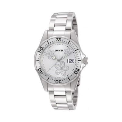 腕時計 インヴィクタ Invicta 12506 Women's Pro Diver Wildflower Silver Dial Stainless Steel Watch