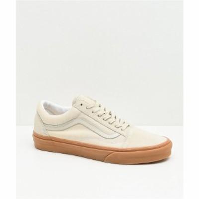 ヴァンズ VANS レディース スケートボード シューズ・靴 old skool oatmeal and gum skate shoes Beige/khaki