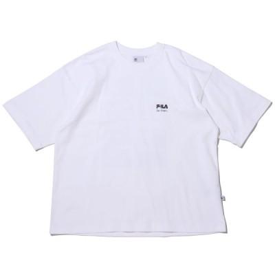 フィラ FILA 半袖Tシャツ フィラ × ケン カガミ アメリカン ティーシャツ (WHITE) 21SS-I at20-c