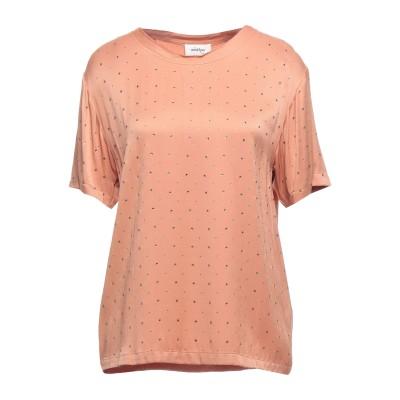 OTTOD'AME T シャツ あんず色 42 レーヨン 100% T シャツ