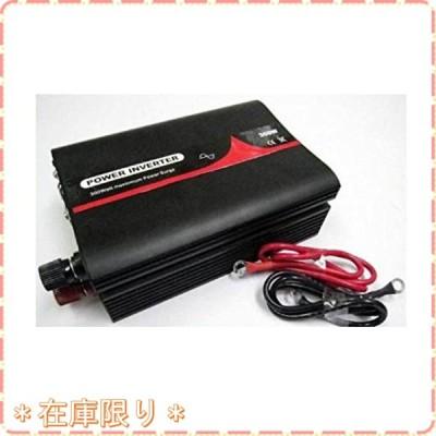 正弦波インバーター 定格300W 12V 50Hz バッテリー接続コード 付き PL保険加入商品