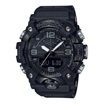 G-SHOCK Gショック ジーショック マッドマスター Black Out カシオ CASIO アナデジ 腕時計 オールブラック GG-B100-1B