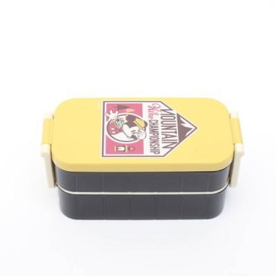 ランチボックス ミッキー タイトランチボックス2段 ミッキー アウトドア/YZW3 ランチボックス お弁当箱 二段弁当 仕切り板付 箸付き ミッキー ディズニー