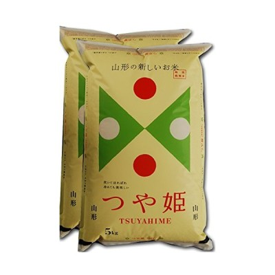 玄米山形県 歌丸 特栽減減 玄米 つや姫 Sソート玄米 令和元年産 (10kg)