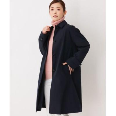 3can4on/サンカンシオン Aラインステンカラーコート ネイビー(093) 03(L)