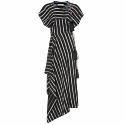 エトロ Etro レディース ワンピース ワンピース・ドレス Striped asymmetric dress