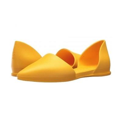 Native Shoes ネイティブ レディース 女性用 シューズ 靴 フラット Audrey - Groovy Yellow