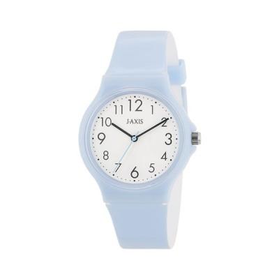 サンフレイム J-AXIS レディスウォッチ メンズウォッチ 腕時計/パステルカラーウォッチ ブルー TCG73-BL(取)