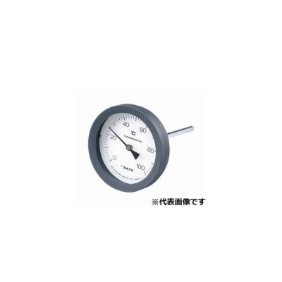 佐藤計量器 BM-T-100P-100100 バイメタル温度計 100℃-L=100/2080-14