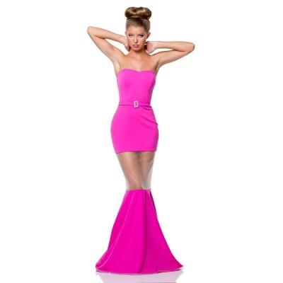 テラニクチュール Terani Couture Trumpet Prom Dress with Nude Illusion Cutout