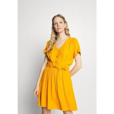 レディース ドレス LAFORTUNA - Day dress - moutarde