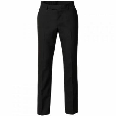 ライムハウス Limehaus メンズ スラックス ボトムス・パンツ Harry Plain Black Panama Trouser Black