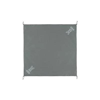 グランドシート(3人用) GS3-565-GY グレー DOD (分類:キャンプ用マット・スリーピングパッド)