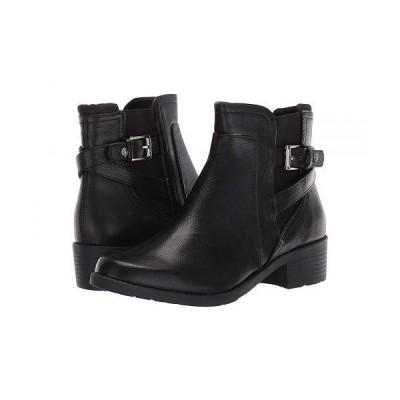 Anne Klein アン クライン レディース 女性用 シューズ 靴 ブーツ アンクル ショートブーツ Lucille - Black