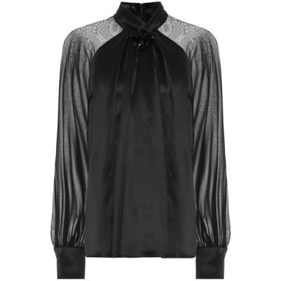 マックスマーラ Max Mara レディース ブラウス・シャツ トップス enna silk-satin blouse