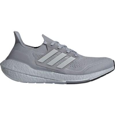 アディダス adidas メンズ ランニング・ウォーキング シューズ・靴 Ultraboost 21 Running Shoes Grey/Yellow