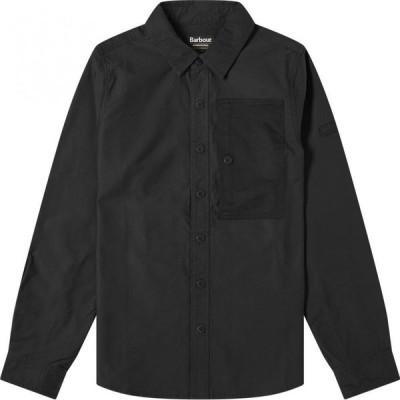 バブアー Barbour メンズ シャツ シャツジャケット トップス international asset overshirt Black
