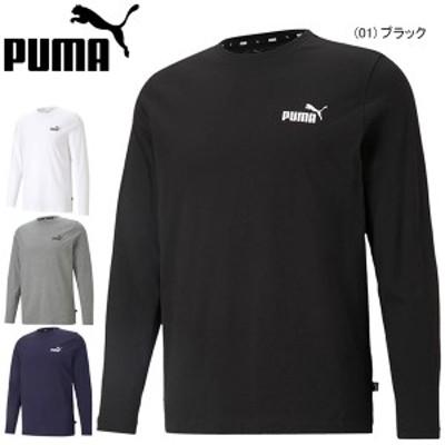 メール便送料無料 プーマ ESS NO.1 ロゴ LS Tシャツ 長袖 PUMA メンズ スポーツウェア トレーニングウェア 589027