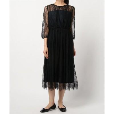ドレス レースロングドレス(0R04-D005)