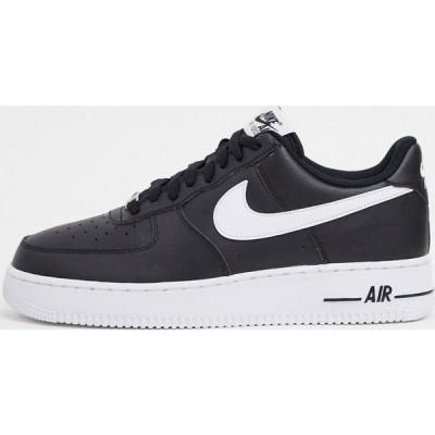 ナイキ Nike メンズ スニーカー エアフォースワン シューズ・靴 Air Force 1 '07 trainers in black ブラック
