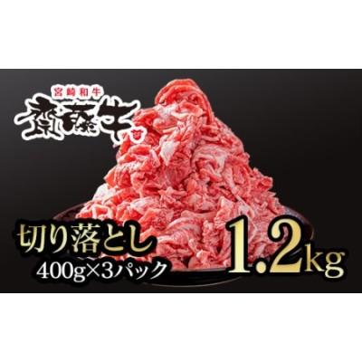宮崎和牛「齋藤牛」切り落とし1.2kg<1.5-87>