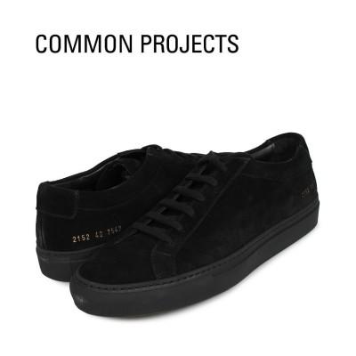 【スニークオンラインショップ】 コモンプロジェクト Common Projects アキレス ロー スニーカー メンズ ACHILLES LOW SUEDE ブラック 黒 2152-7547 メンズ その他 43:28.0cm SNEAK ONLINE SHOP