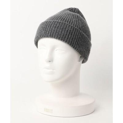 帽子 キャップ THE BASICS/ザベーシックス ジーロンラム ワッチキャップ